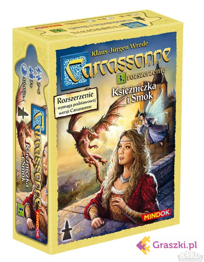 Carcassonne: Księżniczka i smok cz.3 (druga edycja)